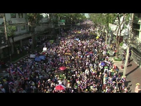 'DELAYING THAI ELECTIONS ISN'T A SOLUTION' SAYS JUSTICE MINISTER - BBC NEWS
