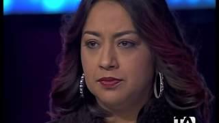 Yo Me Llamo Ecuador Alejandra Guzman 01 04 2014
