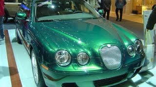 2005 Jaguar S Type R Supercharged Start Up, Exhaust, and In Depth Tour videos