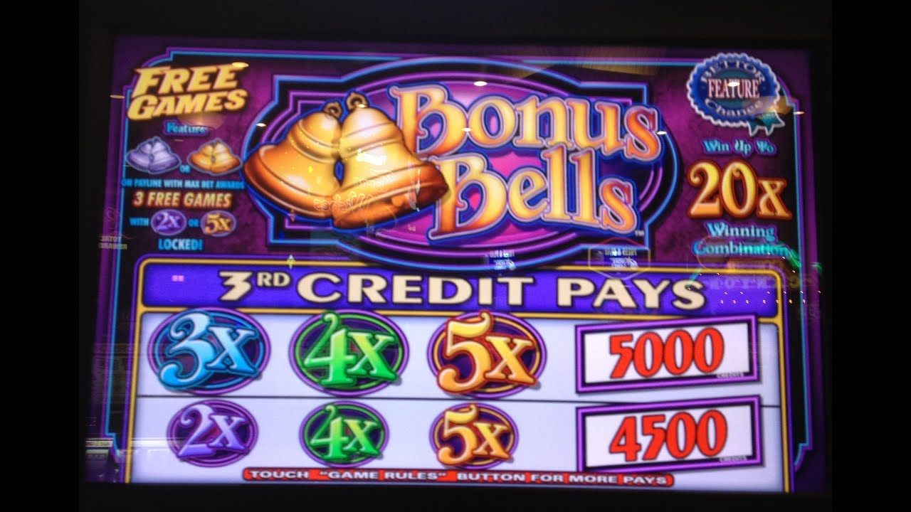 free slot video games bonus