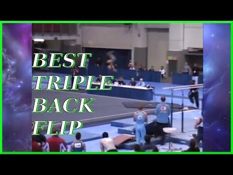 Best! TRIPLE BACK FLIP | Eddie Crane