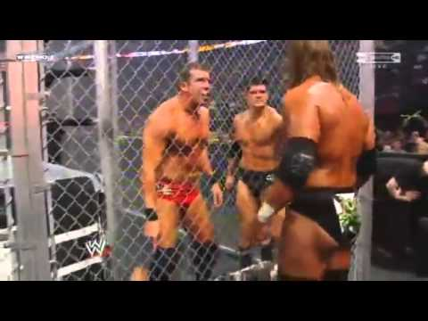 Hell in a Cell 2009 - DX vs Legacy