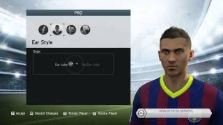 FIFA 14 How To Make Your Virtual Pro Look Like Neymar JR