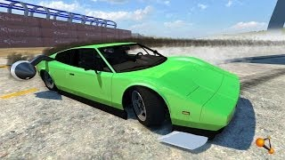 BeamNG Drive Alpha DSC Rocket Car Bolide Crash Testing #43