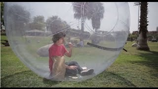 BUBBLE BOY: Airware Spokesperson Auditions