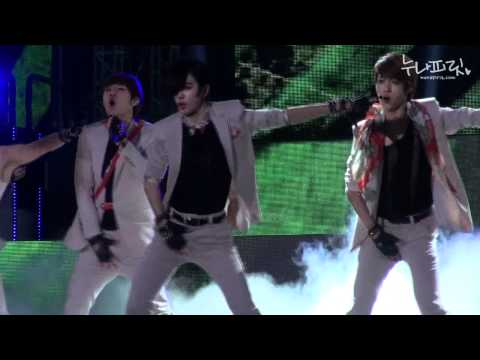 [fancam] 120608 Music Bank infinite 'The Chaser'