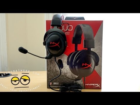 Kingston HyperX Cloud Gaming Headset Unboxing