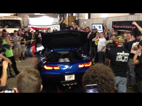720hp LMR Supercharged & Nitrous C7 Corvette Dyno