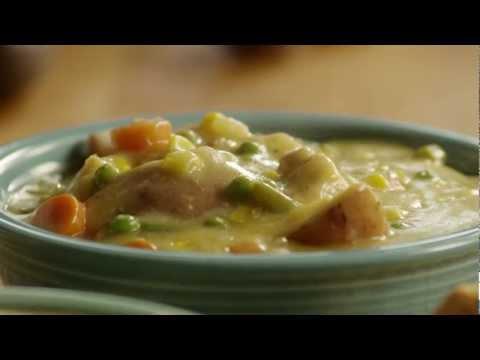 Chicken Pot Pie Recipe - How to Make Slow Cooker Chicken Pot Pie