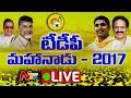 TDP Mahanadu LIVE- Visakhapatnam- Chandrababu, Lokesh..