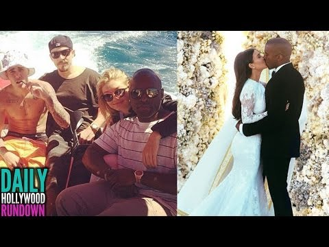 Kim Kardashian & Kanye Wedding First Look Photos! Justin Bieber Flirting With Gigi Hadid? (DHR)