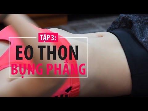 [Khỏe đẹp mỗi ngày] Tập 3 - Bài tập giúp eo thon bụng phẳng