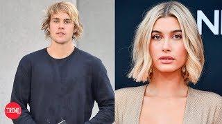Justin Bieber confirmó su relación con Hailey Baldwin besándose en la calle