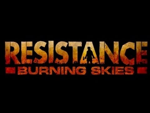 Resistance: Burning Skies - Gamescom Gameplay Demo