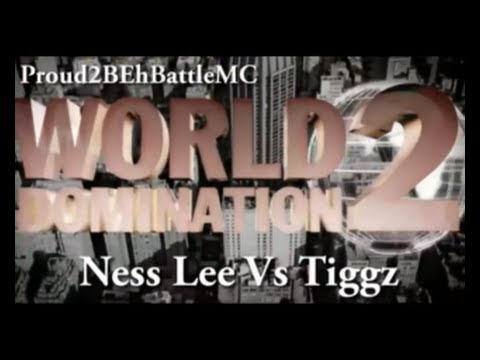 KOTD - Ness Lee vs Tiggz (Proud2BEhBattleMC WD2)