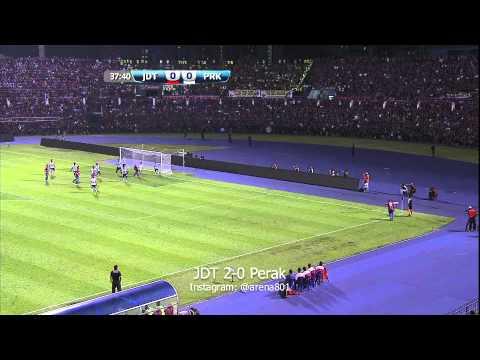 Liga Super 2014: JDT 2-0 Perak (18/1/14)