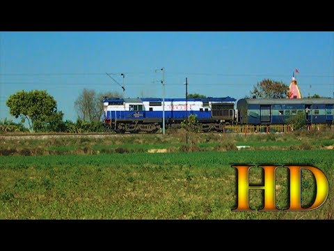 IRFCA - 12523 / New Jalpaiguri - New Delhi SF Express With Beautiful Malda Town Diesel Locomotive