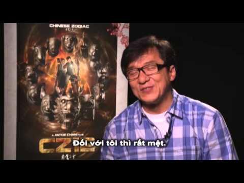 Jackie Chan talks CZ12 (CHINESE ZODIAC)/Thành Long chia sẻ về phim 12 CON GIÁP /