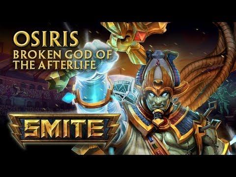 SMITE - God Reveal - Osiris, Broken God of the Afterlife