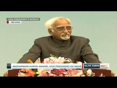 Shri M Hamid Ansari's speech at the Chinese Academy of Social Sciences, Beijing, China.