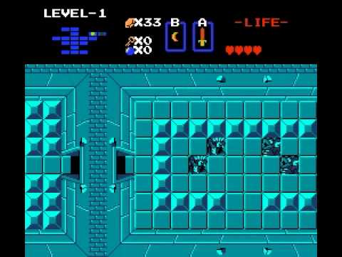 The Legend of Zelda - Legend of Zelda, The (NES) - User video