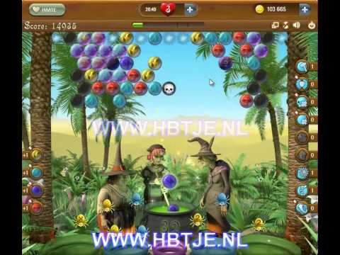 Bubble Witch Saga level 105