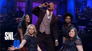 SNL Monologue:  Dwayne Johnson is Franchise Gold