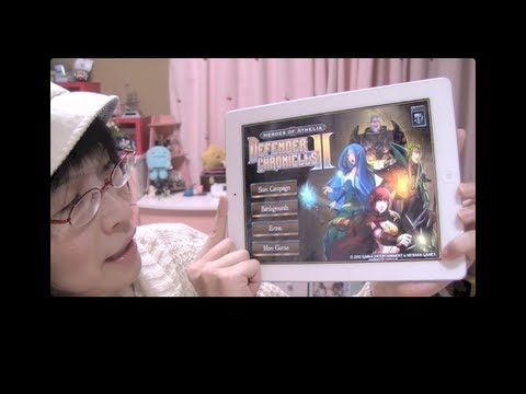 [iPhone,iPad] ファンタジー感がすごい! defender chronicle 2!