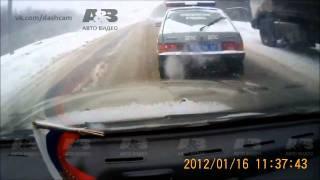Подборка ДТП с видеорегистраторов 19 \ Car Crash compilation 19