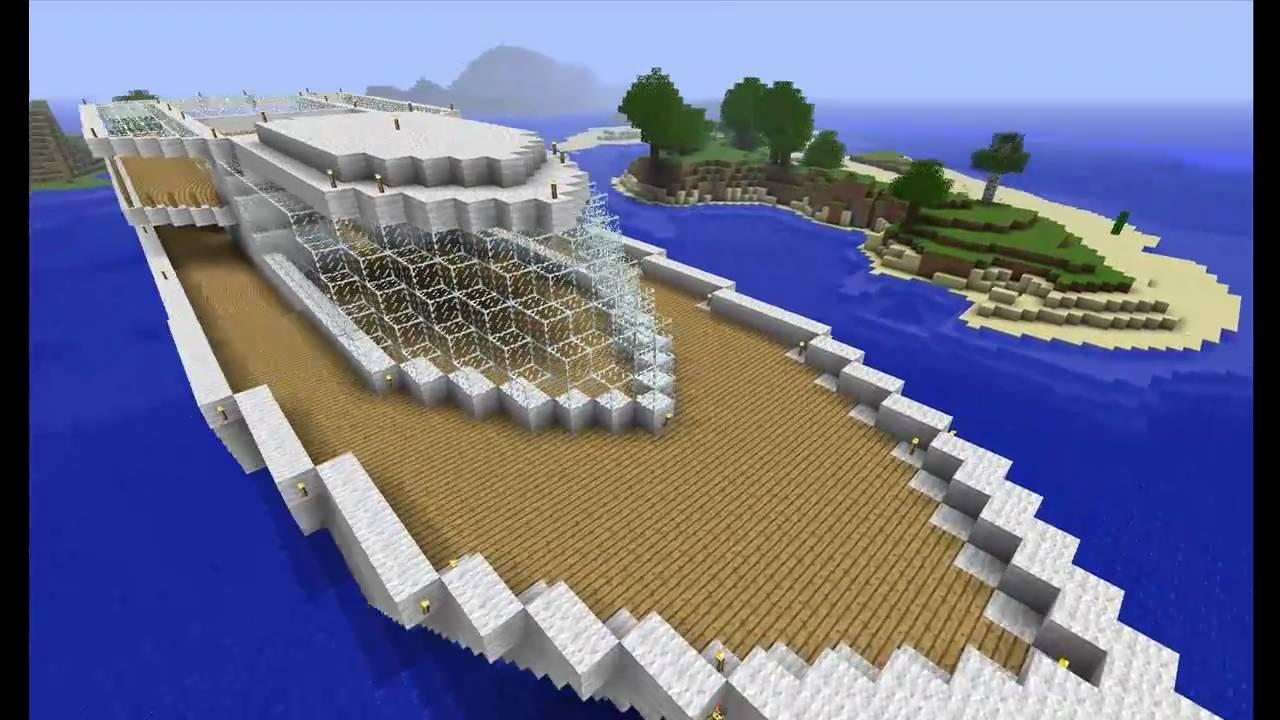 Huge Cruise Ship  Minecraft  YouTube