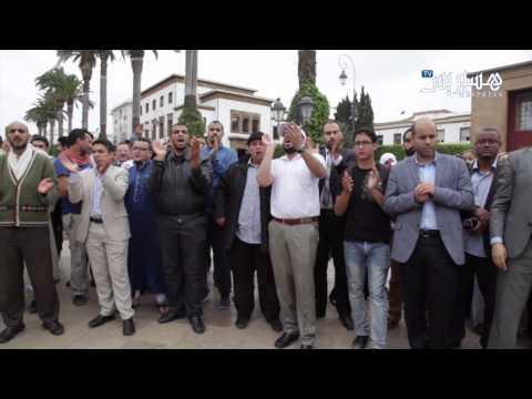 بالفيديو: احتجاج المغاربة ضد إعدام الرئيس المصري السابق محمد مرسي