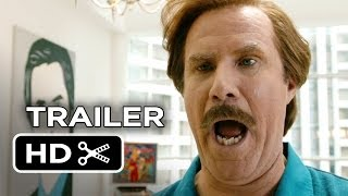 Anchorman 2 Official Super-Sized TRAILER (2014) Will