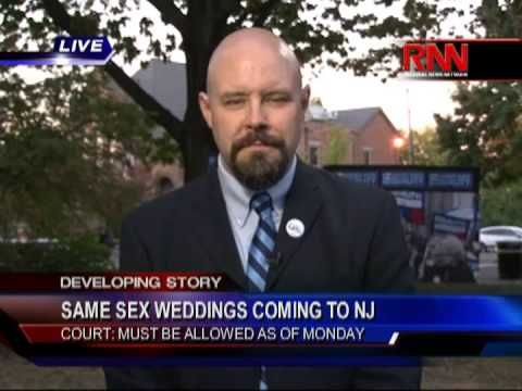 Same-Sex Weddings Coming To NJ -- Court: Must Be Allowed As of Oct. 21 (Part 1 of 2)