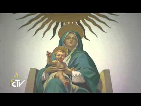 Popiežius klauzūros vienuolėms: Marija, Vilties Motina