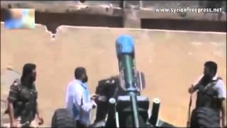 Siria Rebeldes Atacando Con [ARMAS QUIMICAS] A Damasco