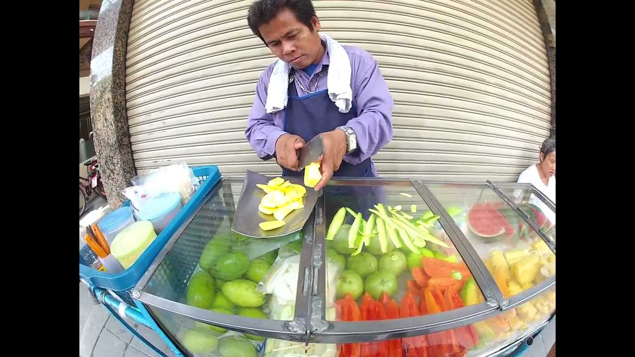 Comment éplucher une mangue ?