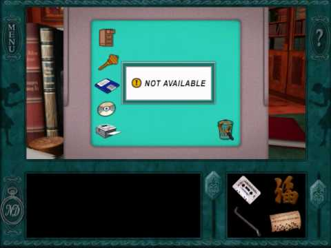 "Nancy Drew Message in a Haunted Mansion (Part 8) - Maze Game, A video walkthrough for ""Nancy Drew: Message in a Haunted Mansion"". In this section, I spy on Louis using the hidden passageway. Louis hides a book in his br..."