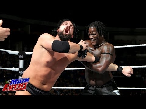 R-Truth vs. Damien Sandow: WWE Main Event, Dec. 4, 2013