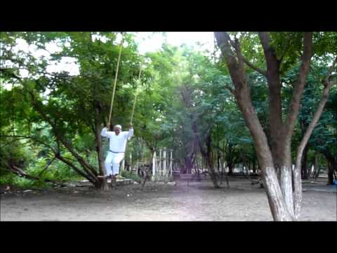Stand swinging at Bhavani island, Vijayawada  .... Video by Tandavakrishna Tungala