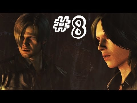 Resident Evil 6 Gameplay Walkthrough Part 8 - BUS WRECK - Leon / Helena Campaign Chapter 2 (RE6)