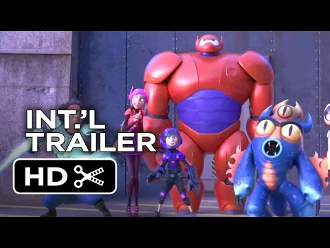 Big Hero 6 Portugese TRAILER (2014) - Jamie Chung Marvel Movie HD