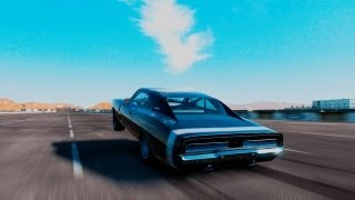 FORZA 4: TEST TRACK WHEELIE (66,000HP CHARGER)