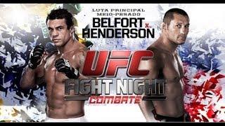 Video Da Luta UFC Vitor Belfort X Dan Henderson Melhores