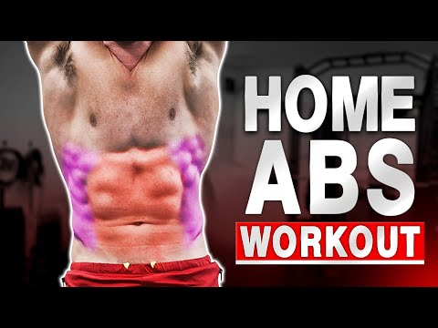 """THE BEST """"HOME ABS & OBLIQUES WORKOUT"""" EVER! - BODYWEIGHT - (Follow Along)"""