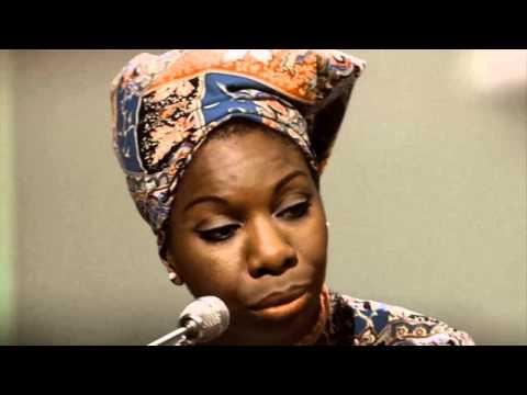Nina Simone Plain Gold Ring Live