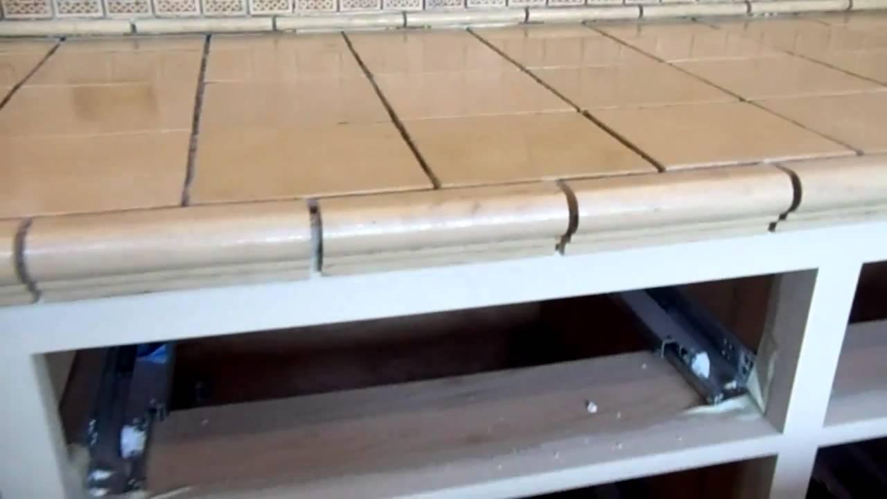 La barra de cocina en carmel youtube - Losas de cocina ...