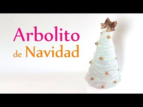Manualidades para Navidad: ARBOLITO de NAVIDAD (Adornos Navideños) - DIY Innova Manualidades