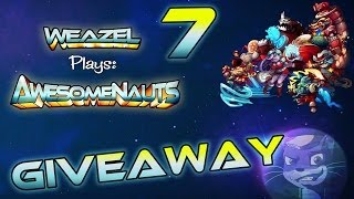 Awesomenauts For FREE - PLUS more Prizes - Giveaway #7