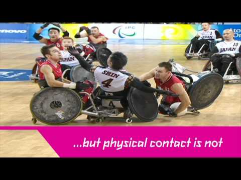 London 2012 - Wheelchair Rugby