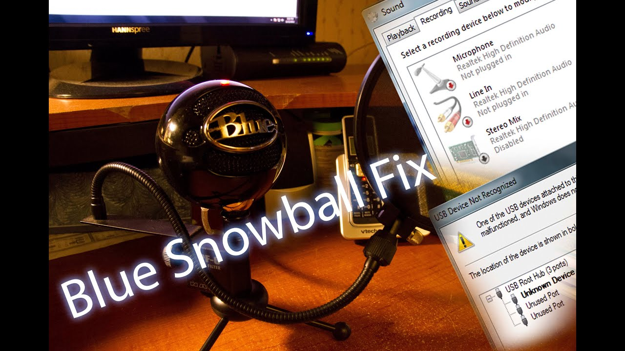 Blue Snowball Driver Download Windows 7